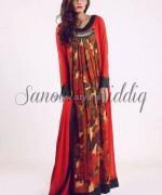 Sanober Siddiq Spring Dresses 2014 For Girls 3