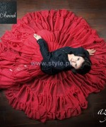 Satrangi by Saqib Dresses 2014 For Valentines Day 2