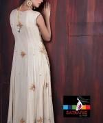 Satrangi by Saqib Party Dresses 2014 For Women 001