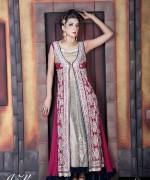 Satrangi by Saqib Party Dresses 2014 For Women 008