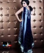 Satrangi by Saqib Party Dresses 2014 For Women 009