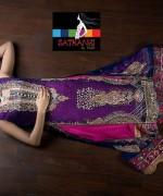 Satrangi by Saqib Party Dresses 2014 For Women 010