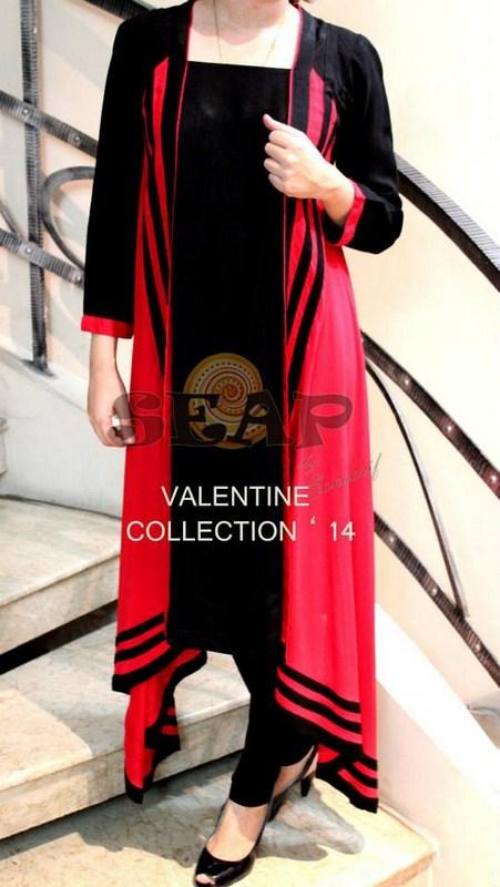 Seap By Sanaa Arif Valentine's Day Dresses 2014 For Women 004
