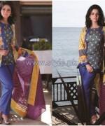 Shariq Textiles Libas Lawn Dresses 2014 Volume 2 7