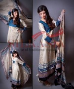 Silkasia Printed Silk Clothes 2014 For Girls 2