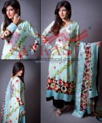 Silkasia Printed Silk Clothes 2014 For Girls 3