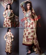 Silkasia Printed Silk Clothes 2014 For Girls 5