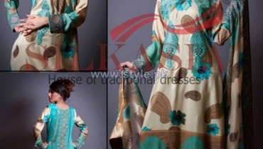 Silkasia Printed Silk Clothes 2014 For Women 10
