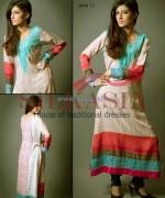 Silkasia Printed Silk Clothes 2014 For Women 9