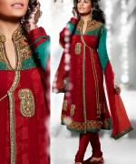 Trend Of Red Dresses 2014 For Pakistani Women 0011