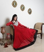 Trend Of Red Dresses 2014 For Pakistani Women 0013