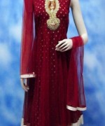 Trend Of Red Dresses 2014 For Pakistani Women 002
