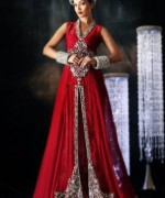 Trend Of Red Dresses 2014 For Pakistani Women 003