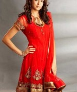 Trend Of Red Dresses 2014 For Pakistani Women 004