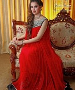 Trend Of Red Dresses 2014 For Pakistani Women 007