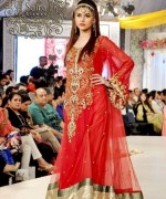 Trend Of Red Dresses 2014 For Pakistani Women 008