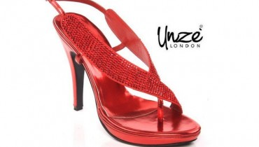 Unze Valentines Day Shoes 2014 For Women 005