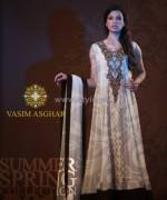 Vasim Asghar Spring Summer Dresses 2014 For Girls 1