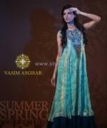 Vasim Asghar Spring Summer Dresses 2014 For Girls 4