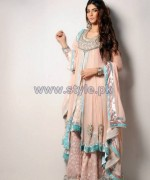 Wajahat Mansoor Formal Wear Dresses 2014 For Women 3
