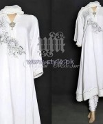 Wajahat Mansoor Party Dresses 2014 For Spring 3