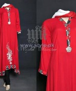 Wajahat Mansoor Party Dresses 2014 For Women 7