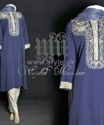 Wajahat Mansoor Party Dresses 2014 For Women 8
