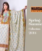 Warda Designer Spring Dresses 2014 for Women004