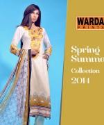 Warda Designer Spring Dresses 2014 for Women005
