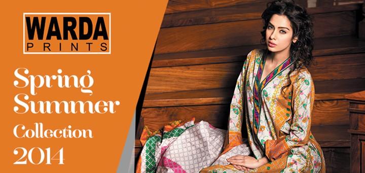 Warda Designer Spring Dresses 2014 for Women