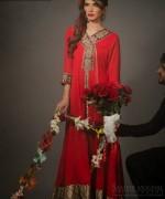 Zunaira Lounge Valentines Day Dresses 2014 For Women 003