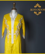 Agha Noor Spring Dresses 2014 For Women 0010