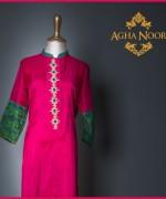 Agha Noor Spring Dresses 2014 For Women 009