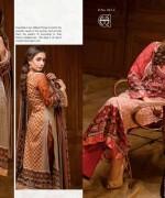 Al Hamra Textiles Lawn Dresses 2014 Volume 2 For Women 0010