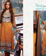 Al Hamra Textiles Lawn Dresses 2014 Volume 2 For Women 002