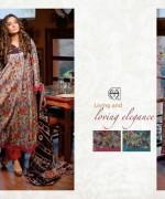 Al Hamra Textiles Lawn Dresses 2014 Volume 2 For Women 006