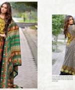 Al Hamra Textiles Lawn Dresses 2014 Volume 2 For Women 009