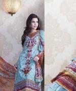 Anum Chiffon Lawn 2014 By Al-Zohaib Textile  001