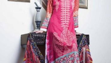 Anum Chiffon Lawn 2014 By Al-Zohaib Textile 0016