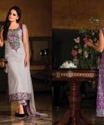 Armeena Rana Khan Designer Lawn 2014 by Gohar Textiles002