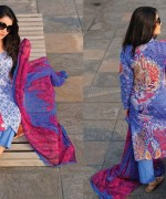 Armeena Rana Khan Designer Lawn 2014 by Gohar Textiles003