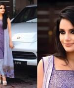 Armeena Rana Khan Designer Lawn 2014 by Gohar Textiles007
