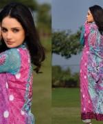 Armeena Rana Khan Designer Lawn 2014 by Gohar Textiles008