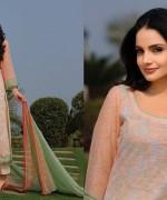 Armeena Rana Khan Designer Lawn 2014 by Gohar Textiles009