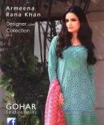 Armeena Rana Khan Designer Lawn 2014 by Gohar Textiles013