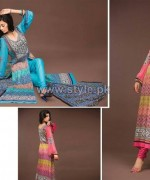 Barkha Lawn Prints 2014 by Moon Textile 10