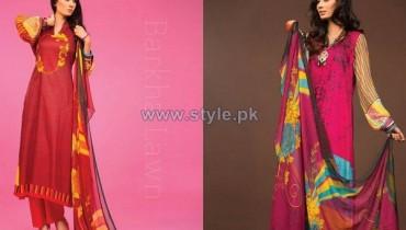 Barkha Lawn Prints 2014 by Moon Textile 12