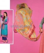 Barkha Lawn Prints 2014 by Moon Textile 8