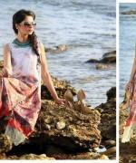 Bashir Ahmad Textiles Lawn Single Shirts 2014 For Women  004