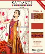 Bonanza Satrangi Lawn Dresses 2014 For Women 5